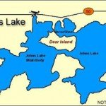 johns lake map