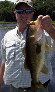 kissimmee chain bass fishing
