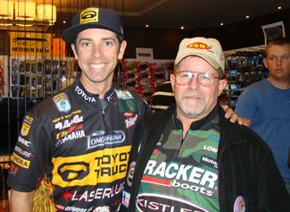 Paul Fisler and Mike Iaconelli