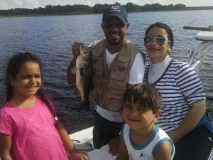 Family Bass Fishing Trip On Lake Toho