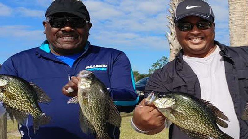 Lake toho crappie fishing on central florida lakes for Crappie fishing florida